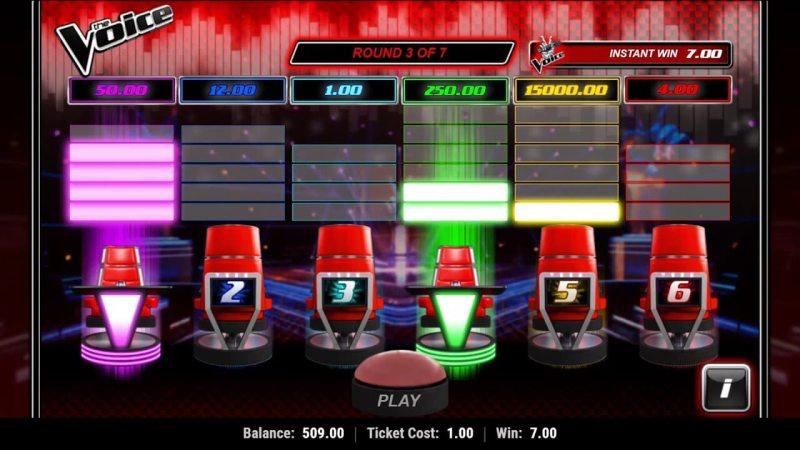 The voice slot machine online