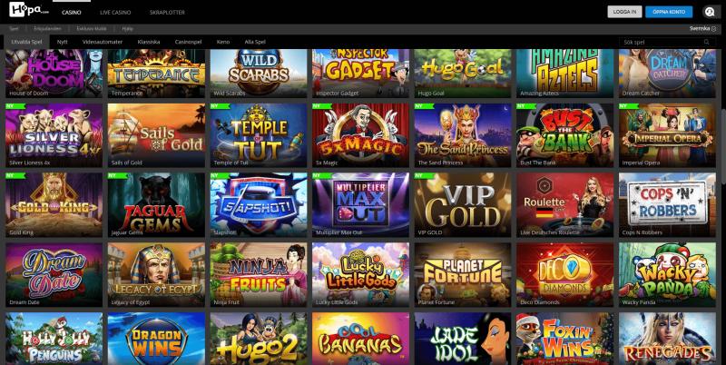 Hopa Casino Android